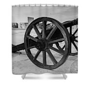 Cannons Shower Curtain