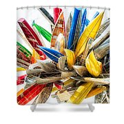 Canoe Art II Shower Curtain