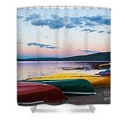 Canoe Colourama Shower Curtain