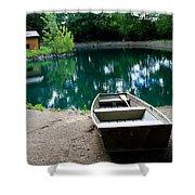 Canoeing Shower Curtain