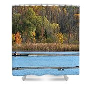 Canoer Shower Curtain