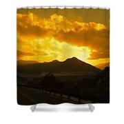 Canon City Sunset Shower Curtain