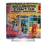Cantors Bakery Shower Curtain
