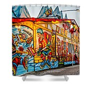 Canuck Funhouse 2 Shower Curtain
