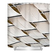 Canvas Ceiling Detail Shower Curtain