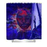 Solar Miracles Shower Curtain