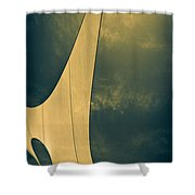 Canvas Sky Shower Curtain by Bob Orsillo