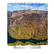 Canyon Bend Shower Curtain