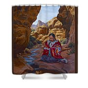 Canyon Cathedral Shower Curtain