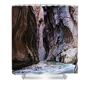 Canyon Color Shower Curtain
