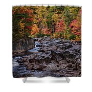 Canyon Color Rushing Waters Shower Curtain