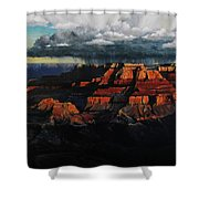 Canyon Colors Shower Curtain