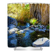Canyon Creek Baby Palm Shower Curtain