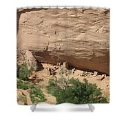 Canyon De Chelly Ruins Shower Curtain
