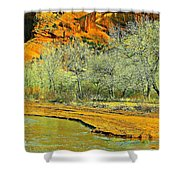 Canyon De Chelly - Spring I Shower Curtain