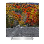 Canyon Hill Shower Curtain