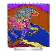 Canyon Horse Shower Curtain