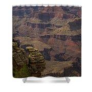 Canyon Jenga Shower Curtain