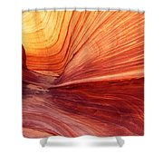 Canyon Kissed By The Sun Shower Curtain