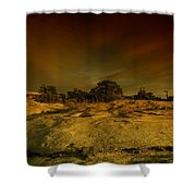 Canyon Land Utah Shower Curtain