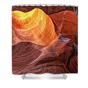 Canyon Light Shower Curtain