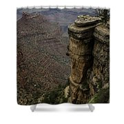 Canyon Peaks Shower Curtain