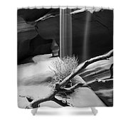 Canyon Sandfall Shower Curtain