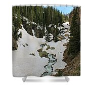 Canyon Scenery Shower Curtain