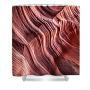 Canyon Texture Shower Curtain