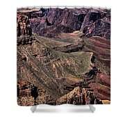 Canyon Walls Shower Curtain