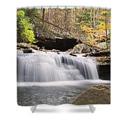 Canyon Waterfall-artistic Shower Curtain