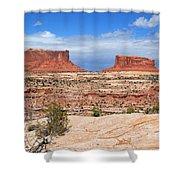 Canyonlands Utah Landscape Shower Curtain
