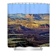 Canyonlands View From Green River Overlook Shower Curtain