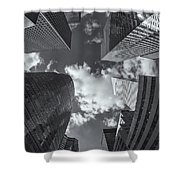 Canyons Of New York II Shower Curtain