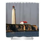 Cap Des Rosiers - Quebec Shower Curtain