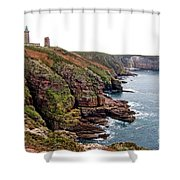 Cap Frehel In Brittany France Shower Curtain