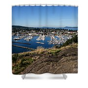 Cap  Sante Marina Shower Curtain