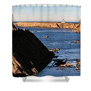 Cape Arago Lighthouse 2 Shower Curtain