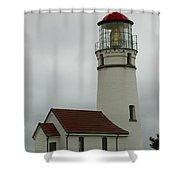 Cape Blanco Lighthouse  1 B Shower Curtain