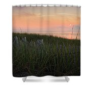 Cape Cod Bay Sunset Shower Curtain