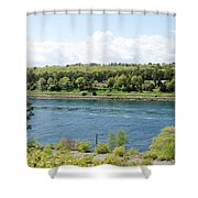 Cape Cod Canal Shower Curtain