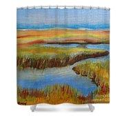Cape Cod Colors Shower Curtain