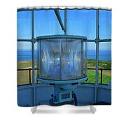 Cape Cod Lighthouse View Shower Curtain