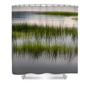 Cape Cod Marsh Shower Curtain