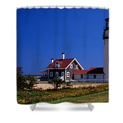 Cape Cod Or Highland Lighthouse Shower Curtain