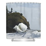 Cape Disappointment 2 B Shower Curtain