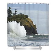 Cape Disappointment 3 A Shower Curtain