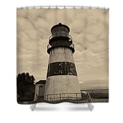 Cape Disappointment Lighthouse 2 Shower Curtain