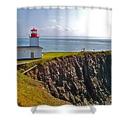 Cape D'or Lighthouse-ns Shower Curtain