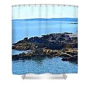 Cape Elizabeth Coast Shower Curtain